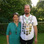 Vizekönig 2016 Christian Frücht mit seiner Vizekönigin Anika