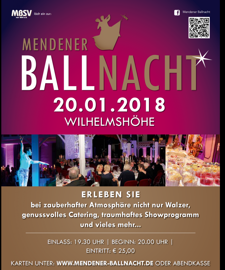 Mendener Ballnacht 2018