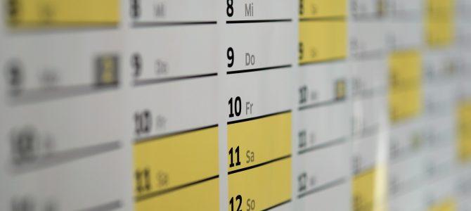 Terminänderung Sitzung