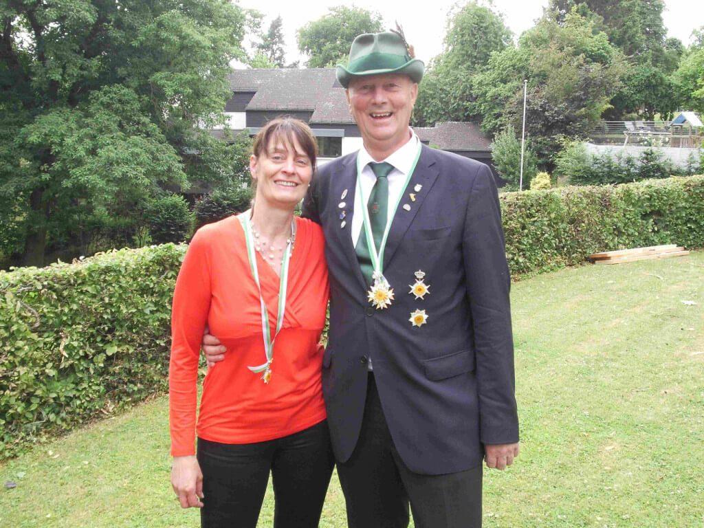 Königspaar 2017/2018 Karl und Anja Fellenberg
